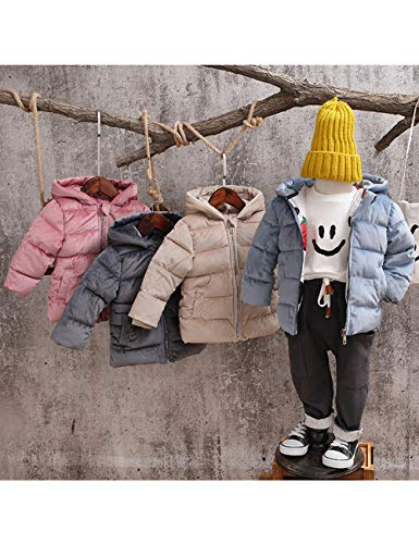 Thick Down Child Hooded Cotton Velvet Coats Warm Blue Jacket Slim BESBOMIG fit Fabric Outerwear Winter Puffer Quilted Lightweight Gold x1f7wgdEq