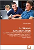 E-Learning Implementation, Eric Kofi Asiedu, 3639357205