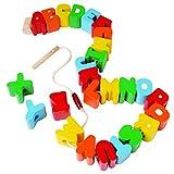 Jumbo ABC Stringing Beads