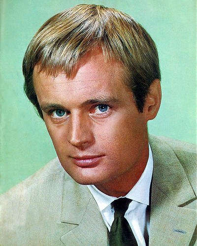 David Mccallum The Man From Uncle 11X14 Hd Aluminum Wall Art