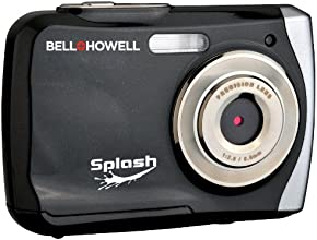 Bell+Howell Splash WP7 12 MP Waterproof Digital Camera Black