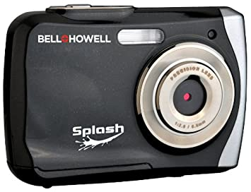 Amazon.com : Bell+Howell WP7 16 MP Waterproof Digital Camera with ...