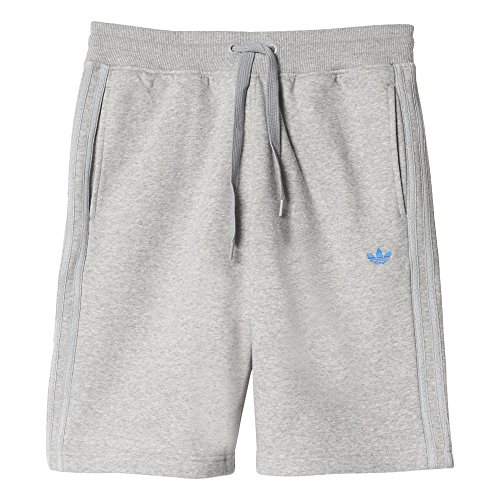 adidas Originals Mens Classic Fleece Sweat Shorts Grey XS Adidas Fleece Shorts