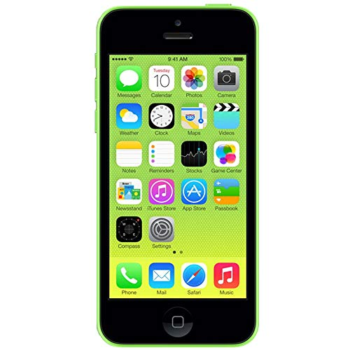 Apple iPhone 5C, GSM Unlocked, 8GB - Green (Refurbished) ()