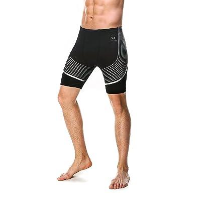 2017 Men's Swimming suit Male Swimwear Swim Suit Shorts Boys Black Swiming Trunks