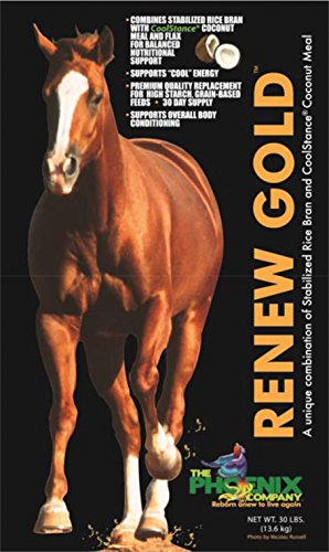 RENEW GOLD NUTRITIONAL SUPPLEMENT FOR HORSES - 30 POUND by DavesPestDefense