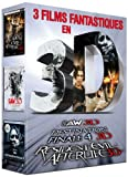3 films fantastiques en 3D - Coffret - Saw 3D + Destination Finale 4 3D + Resident Evil: Afterlife 3D