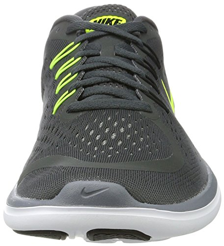 Nike Mens Flex 2017 Rn Antracite / Volt / Cool Grey / Black