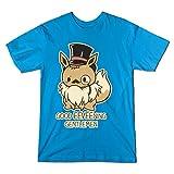 Good Eevee-Ning Gentlmen! - Teepublic Female Large T-Shirt