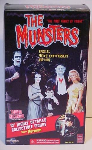 The Munsters Special 40TH Edition Racer Herman Munster Figure