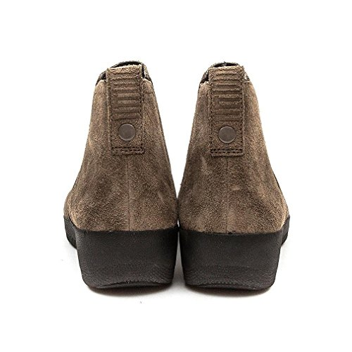 Fitflop Superchelsea Tm Boot, Zapatillas Altas para Mujer Marron