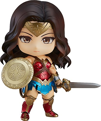 Good Srile Company G90417 DC Comics Nendoroid Wonder Woman Hero's Edition Figurine
