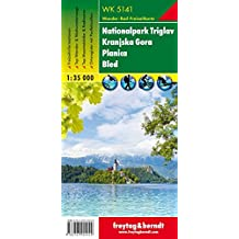 Slovenia WK5141: Triglav National Park - Kranjska Gora-Planica-Bled (Walking Maps) 1:35K (English, French and German Edition)