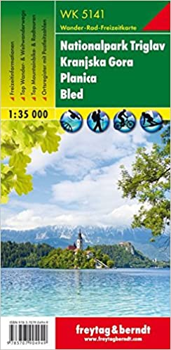 Triglav Kranjska Gora 1:35.000: Wandel- En Fietskaart 1:35 000 por Freytag & Berndt epub