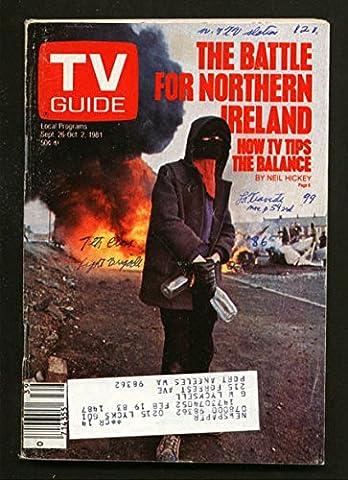 TV Guide September 26 1981- Western Washington State- Northern Ireland (Tv Guide September 1981)