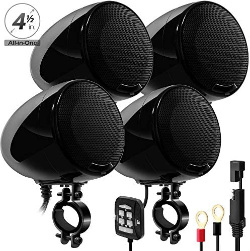 Amplifier Waterproof Bluetooth Motorcycle Handlebar product image