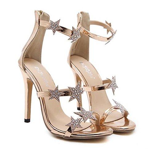 RUGAI-UE Sommerschuhe Schuhe Schuhe europäische europäische europäische und amerikanische Mode. 6d9195