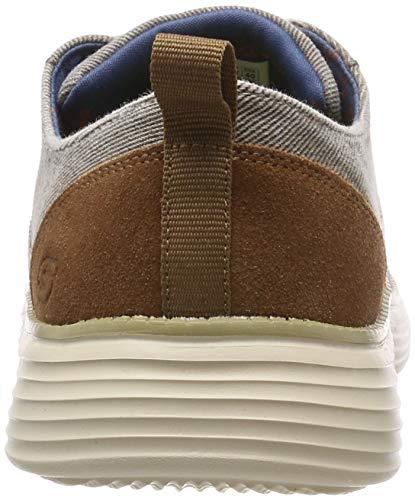 Sneaker Skechers taupe pexton 0 2 Tpe Status Uomo Beige PRxfwIgqR