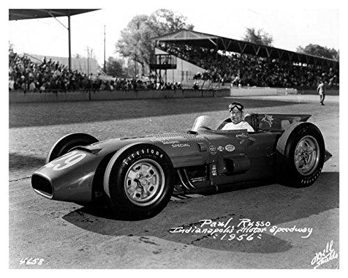 1956 Novi Vespa Indy 500 Race Car Photo Poster Paul Russo