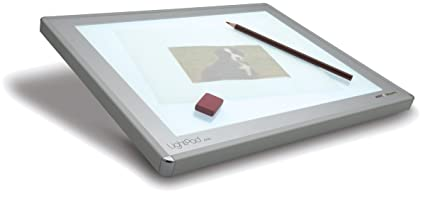 9 x 12 Inches Silver Artograph LX LightPad light box