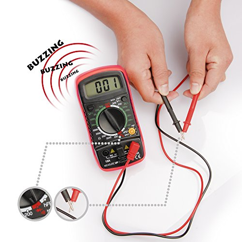 how to use a digital multimeter for testing battery