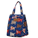 Gocheaper Thermal Portable Insulated Cooler Bag, Lunch Picnic Carry Tote Storage Case Box for Women Kids Adults (D)