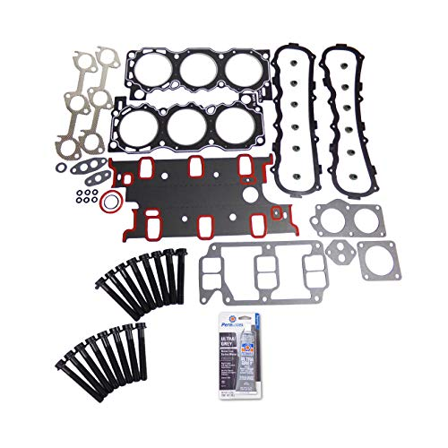 Head Gasket Set Bolt Kit Fits: 86-92 Ford Bronco II Ranger 2.9L V6 OHV VIN T Cu. 177