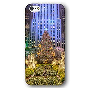 New York Christmas Tree Rockefeller Center Angels iPhone 5 and iPhone 5s Slim Phone Case