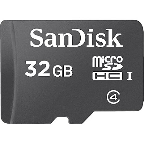 SanDisk 32 GB Class 4 microSDHC Flash Memory Card Micro SD