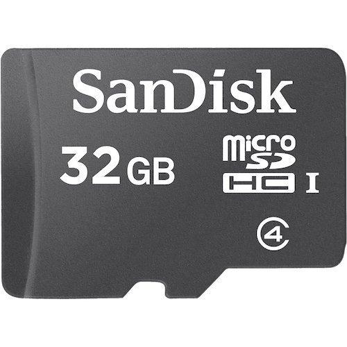 SanDisk 32 GB Class 4 microSDHC Flash Memory Card