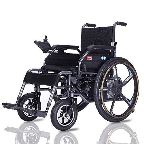 - KOBB Electric Wheelchair Folding Lightweight Elderly Disabled Intelligent Automatic Lithium Battery Elderly Electric Wheelchair