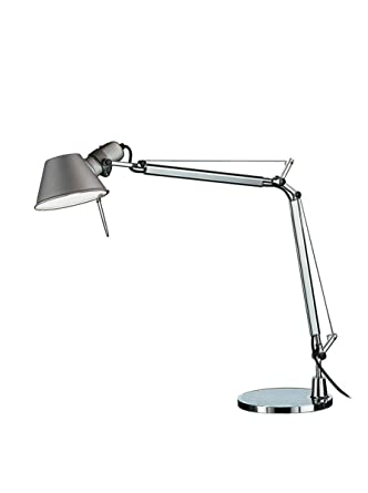 Artemide Tolomeo Mini Lampe De Table Avec Base En Aluminium Amazon