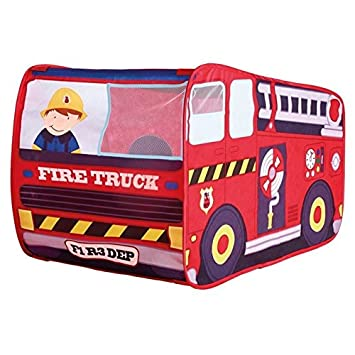 Fire Engine Role Play Tent  sc 1 st  Amazon UK & Fire Engine Role Play Tent: Amazon.co.uk: Toys u0026 Games