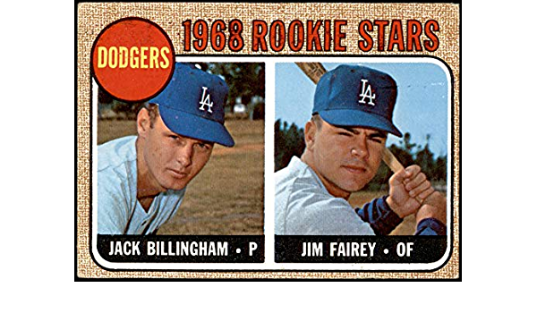 Jack Billingham Los Angeles Dodgers Custom Baseball Card 1968 Style Card That Could Have Been by MaxCards Mint Condition 2018