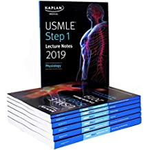 USMLE Step 1 Lecture Notes 2019:  7-Book Set (Kaplan Test Prep)
