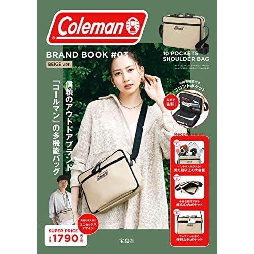 Coleman BRAND BOOK #03 BEIGE ver. 画像
