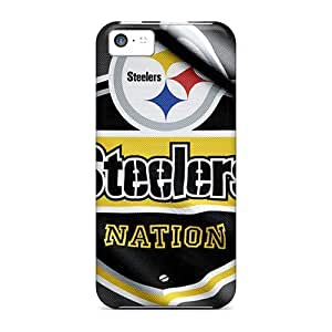 Fashion FEPiraG2702wdAZf Case Cover For Iphone 5c(pittsburgh Steelers)