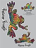 Enjoy It Peace Frogs Hope Peace Frogs Car