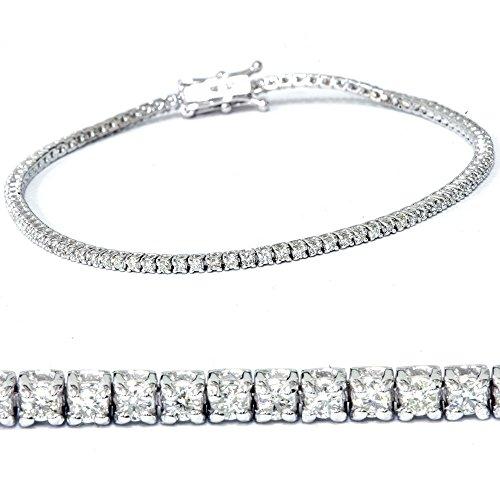 Diamond 14k Gold Tennis Bracelet - 6