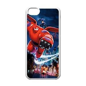 Big Hero 6 SANDY0095829 Phone Back Case Customized Art Print Design Hard Shell Protection Iphone 5C