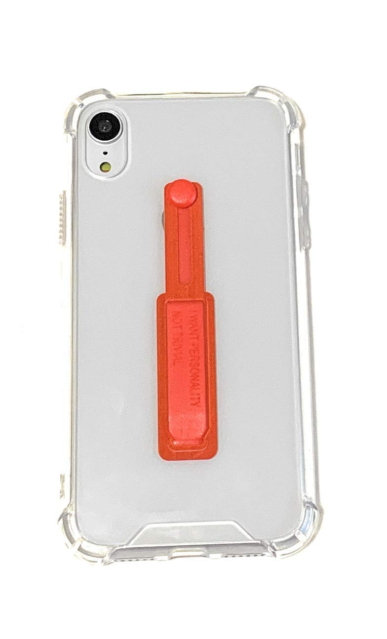 Protective Phone Cover with Kickstand Ring Stand Holder /& Adjustable Wrist Strap Compatible for iPhone Xs Max 6.5/'/' Hard Clear iPhone Xs Max Case