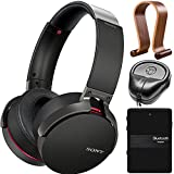 Sony XB950B1 Extra Bass Wireless Headphones with Accessories Kit (Black) (2017)