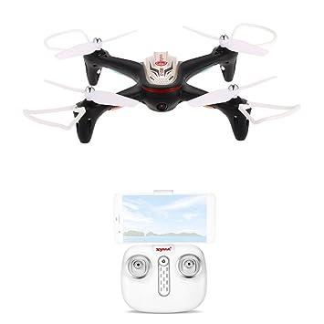 Goolsky Syma X15W Wifi FPV Drone con 0.3MP Cámara RC Quadcopter G ...