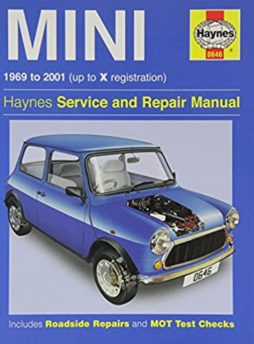 haynes mini 1969 to 2001 up to x registration haynes service and rh amazon com Haynes Manual Pictures Back Clymer Manuals