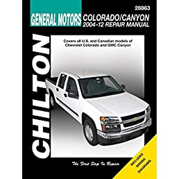chevrolet colorado gmc canyon chilton 2004 12 haynes publishing rh amazon com 2006 gmc canyon owner's manual 2006 gmc canyon service manual