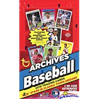 $99 » 2019 Topps Archives Baseball MASSIVE Factory Sealed 24 Pack HOBBY Box with TWO(2) AUTOGRAPHS! Look for Autos of Derek Jeter,…