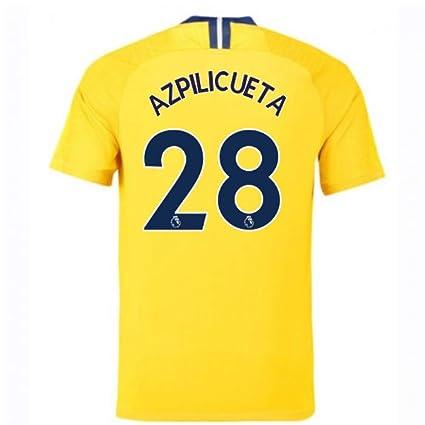 promo code 415bc 47241 Amazon.com : 2018-2019 Chelsea Away Nike Football Soccer T ...