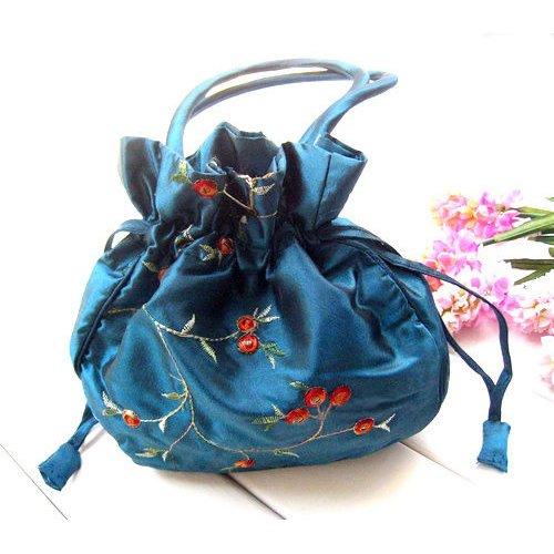 TOOGOO(R) - Bolso de asas para mujer rojo rojo Azul - Azul Claro