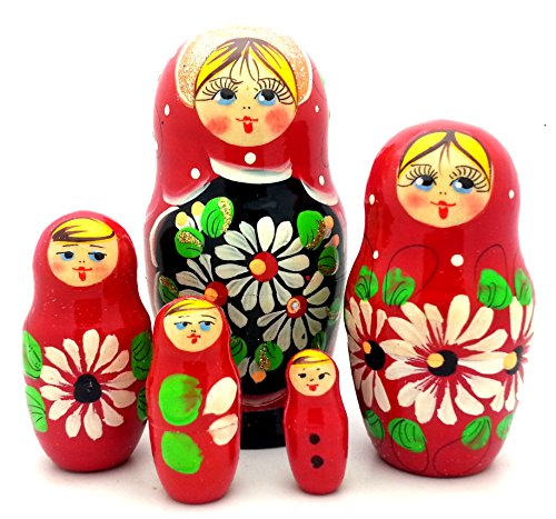 Russian Nesting Doll Matryoshka Hand Painted Nesting Doll se