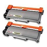 WonderTec 2 Pack Compatible Toner for Brother MFC-L2700DW,mfc L2740DW Toner,Printer Cartridges tn660,Toner for Brother hl-l2340dw,Brother mfc-l2700dw Toner,Toner Cartridge Brother mfc-l2700dw tn-660